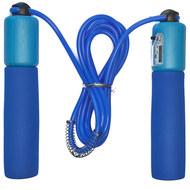 E32618-1 Скакалка со счетчиком 2.8 м. (синяя), 10019864, СКАКАЛКИ