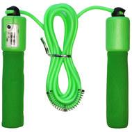 E32618-3 Скакалка со счетчиком 2.8 м. (зеленая), 10019866, СКАКАЛКИ