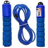 E32628-1 Скакалка со счетчиком 2.8 м. (синяя), 10019883, СКАКАЛКИ