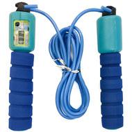 E32617-1 Скакалка со счетчиком 2.8 м. (сине/голубая), 10019908, СКАКАЛКИ
