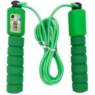 E32617-2 Скакалка со счетчиком 2.8 м. (зеленая), 10019909, СКАКАЛКИ