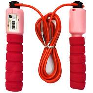 E32617-3 Скакалка со счетчиком 2.8 м. (красно/розовая), 10019910, СКАКАЛКИ