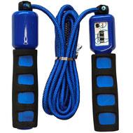 E32627-1 Скакалка со счетчиком 2.8 м. (синяя), 10019924, СКАКАЛКИ