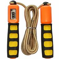E32627-4 Скакалка со счетчиком 2.8 м. (оранжевая), 10019927, СКАКАЛКИ