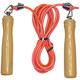 E32639-3 Скакалка ПВХ с деревянными ручками 2,6 м. (красная)