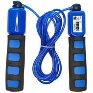 E32630-1 Скакалка со счетчиком 2.8 м. (синяя), 10019960, СКАКАЛКИ