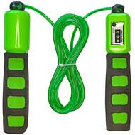 E32630-2 Скакалка со счетчиком 2.8 м. (зеленая), 10019961, СКАКАЛКИ