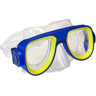 E33113-1 Маска для плавания детская (ПВХ) (синяя), 10019999, Маски