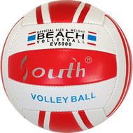 E33541-3 Мяч волейбольный (красный), PVC 2.5, 250 гр, машинная сшивка, 10020079, Волейбольные мячи