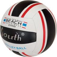 E33541-4 Мяч волейбольный (черный), PVC 2.5, 250 гр, машинная сшивка, 10020080, ВОЛЕЙБОЛ