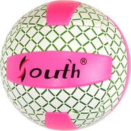 E33542-4 Мяч волейбольный (розовый), PVC 2.7, 280 гр, машинная сшивка, 10020084, Волейбольные мячи
