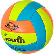 E33543-1 Мяч волейбольный (голубой), PVC 2.7, 280 гр, машинная сшивка, 10020085, ВОЛЕЙБОЛ