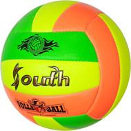 E33543-2 Мяч волейбольный (зеленый), PVC 2.7, 280 гр, машинная сшивка, 10020086, ВОЛЕЙБОЛ