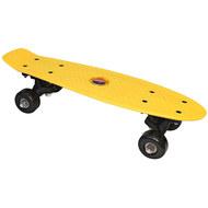 E33082 Скейтборд пластиковый 41x12cm (желтый) (SK400), 10020087, 01.ЛЕТО