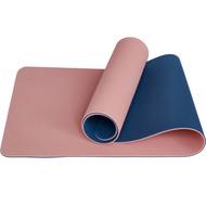 E33587 Коврик для йоги ТПЕ 183х61х0,6 см (розовый/синий), 10020098, TPE/ТПЕ