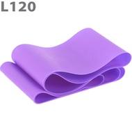 MTPR/L-120-55 Эспандер ТПЕ лента для аэробики 120 см х 15 см х 0,55 мм. (фиолетовый), 10020103, Эспандеры Трубки Ленты Жгуты
