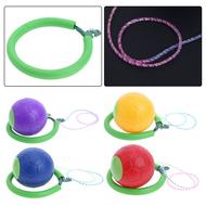 E33501 Нейроскакалка мягкая с мячом (цвета Mix), 10020133, Координация