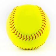 """E33514 Мяч для софта-бейсбола 12"""" (неоновый), 10020143, НУНЧАКИ и БИТЫ"""