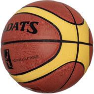 E33492 Мяч баскетбольный ПУ, №7 (коричневый), 10020168, БАСКЕТБОЛ