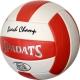 E33490-3 Мяч волейбольный (красный), PVC 2.7, 290 гр, машинная сшивка