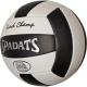 E33490-4 Мяч волейбольный (черный), PVC 2.7, 290 гр, машинная сшивка
