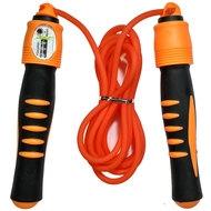 R18146 Скакалка 2,8 м. ПП/Резина (оранжевая), 10014666, СКАКАЛКИ