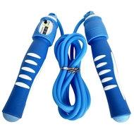 R18146 Скакалка 2,8 м. ПП/Резина (синяя), 10014664, СКАКАЛКИ