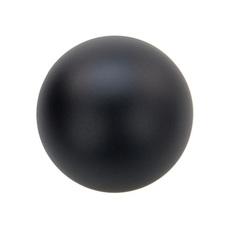 Мяч для метания 15520-AN резиновый (черный) 150 грамм