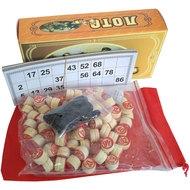 Лото D26170 (среднее) в кортонной коробке, 10015319, Домино и лото
