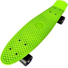 """D26019 Пенниборд пластиковый 22"""" - 56x15cm (зеленый) (SK200)"""