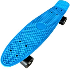 "D26020 Пенниборд пластиковый 22"" - 56x15cm (синий) (SK201)"