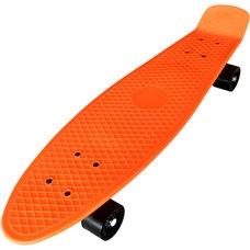 """D26033 Пенниборд пластиковый 27"""" - 68x19,5cm (оранжевый) (SK302)"""