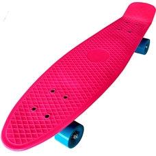 """D26034 Пенниборд пластиковый 27"""" - 68x19,5cm (розовый) (SK303)"""