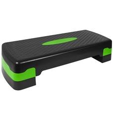 HKST105 Степ доска 2-х уровневая (зеленая)