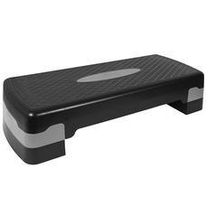 HKST105-A Степ доска 2-х уровневая (серый)