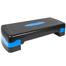 HKST105 Степ доска 2-х уровневая (синяя)