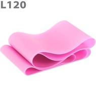 MTPR/L-120-35 Эспандер ТПЕ лента для аэробики 120 см х 15 см х 0,35 мм. (розовый), 10015687, Эспандеры Трубки Ленты Жгуты