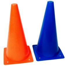 Конус разметочный KR-20 размер h-20см (синий), пластиковый