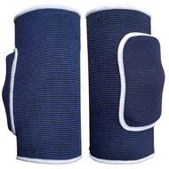 NK-102-L Наколенники волейбольные (Синий / Белый) р.L , 10015860, Волейбольные аксессуары