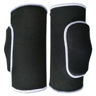 NK-104-L Наколенники волейбольные (Черный / Белый) р.L , 10015868, Волейбольные аксессуары