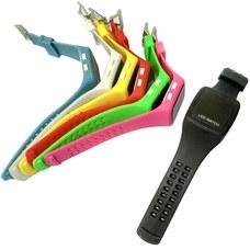C28672-5 Часы спортивные электронные (розовые)