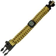 D26090-5 Браслет выживания из Паракорда с компасом и застежкой, 10016468, Термоса, кружки, бутылки, фляжки