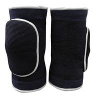 NK-304-L Наколенники волейбольные (Черный/Белый) р. L, 10016357, Волейбольные аксессуары