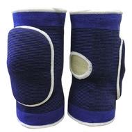 NK-402- M Наколенники волейбольные с дыркой (Синий/Белый) р. M, 10016364, Волейбольные аксессуары