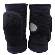 NK-403-L Наколенники волейбольные с дыркой (Черный/Черный) р. L, 10016369, Волейбольные аксессуары