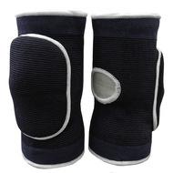 NK-404-L Наколенники волейбольные с дыркой (Черный/Белый) р. L, 10016373, ВОЛЕЙБОЛ