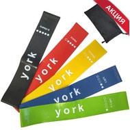 """C33511 Комплект эспандеров """"York"""" латексная петля 600х50 мм (5 штук), 10017266, ЭСПАНДЕРЫ"""