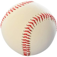 "E33512 Мяч бейсбольный 9"" (белый), 10017282, 08.ИГРЫ"