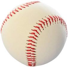 """E33512 Мяч бейсбольный 9"""" (белый)"""