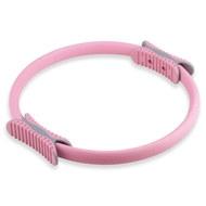 PLR-200 Кольцо эспандер для пилатеса 38 см (розовое) (56-915), 10017479, ОБРУЧИ